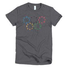 Alphabet Olympics T-Shirt (Womens)