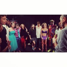 Backstage at last week's SYTYCD!