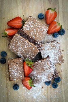 Sündig saftige Brownies