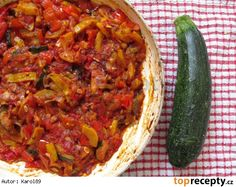 Zeleninové ragú Ratatouille, Beef, Ethnic Recipes, Eastern Europe, Style, Red Peppers, Meat, Swag, Outfits
