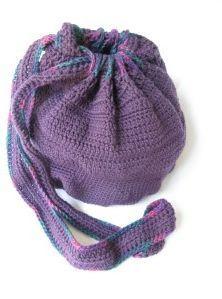 Casual Crochet Knapsack / easy / CROCHET / FREE pattern