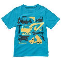 Carters Dump truck shirt