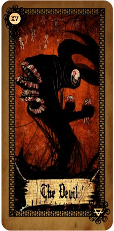 Free Daily Tarotscope -- Jan 22, 2014  You may have to dig deep today if you want to work on any issues that you feel have been holding you back. The Devil card can represent limitations that are far more self-imposed than you give