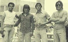 Teofilo Cubillas, Hugo Sotil, Juan Carlos Oblitas, Percusión Rojas