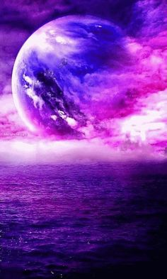 New fantasy landscape magic animation Ideas Beautiful Nature Wallpaper, Beautiful Moon, Beautiful Landscapes, Beautiful Words, Purple Wallpaper, Galaxy Wallpaper, Wallpaper Backgrounds, S5 Wallpaper, Art Galaxie