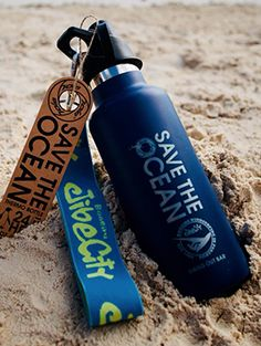 Thermox thermo bottle hole save the ocean and no more plastic