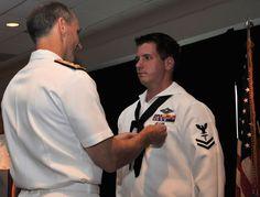 Hospital Corpsman 2d Class Jacob Emmott awarded Silver Star by Admiral Greenert [U.S. Navy (Matt Dickinson)]