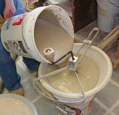 how to sieve glazes..