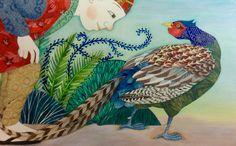 Peachboy and Pheasant by Helen Cann. www.helencann.co.uk