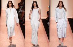 BCBG の最大アズリア ニューヨーク ロンドンファッションウィークの春夏 SS 2015 コレクション 06 を着用するには、準備ができてください。 1054