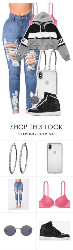 """""""Untitled #5609"""" by dianna-argons-lover ❤ liked on Polyvore featuring Speck, Victoria's Secret, Stussy, Oliver Peoples and NIKE"""