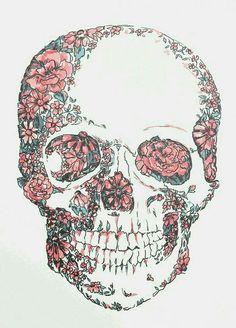 art, boho, brain, cool, cute, draw, drawing, dreams, flowers ...