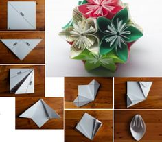 Origami Flower Pomander
