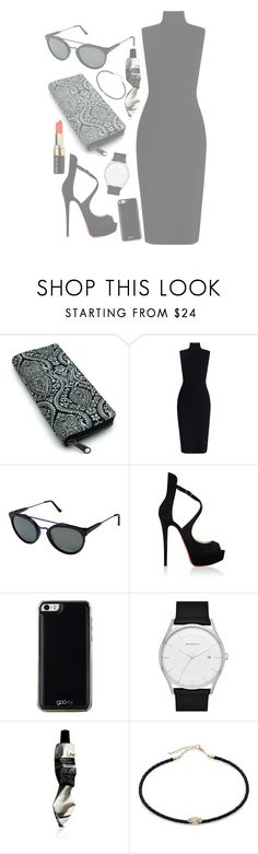 """Promenade"" by mode-222 ❤ liked on Polyvore featuring Zimmermann, RetroSuperFuture, Christian Louboutin, Gooey, Skagen, Aesop, Jacquie Aiche and Bobbi Brown Cosmetics"