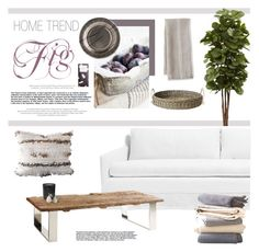 """""""Fig"""" by barngirl ❤ liked on Polyvore featuring interior, interiors, interior design, home, home decor, interior decorating, Nearly Natural, Brownstone, Rituals and Madhouse"""