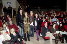 María Dueñas con Cristina Anacabe, Cesc Mulet y Sebastià Munar.  #juniper300 #latinoheritage #majorca2013 #marcaespaña