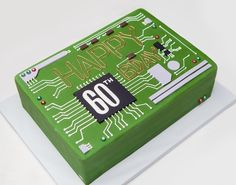 Computer motherboard cake - Eat Cake Be Merry