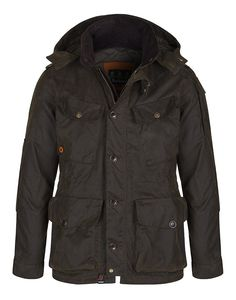 Barbour Lifestyle Men's Latrigg Wax Jacket - Olive MWX0906OL51