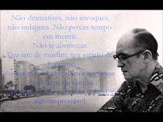 Procura da Poesia - Carlos Drummond de Andrade (declamado em Inglês)