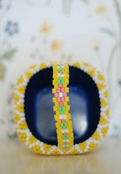 Flower Crown basket detail. HEJSAN GOODS.