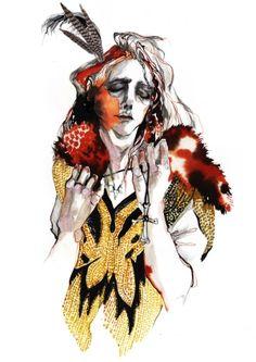 Nadeesha Godamunne Fashion Illustrations by pam