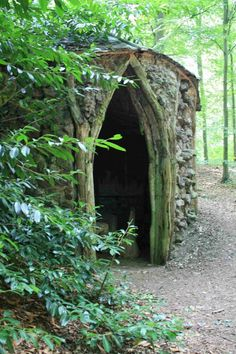 The hermitage at Brocklesby Park is of the type known as a root house.