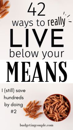 Want to live better while spending less money? Check out our 41 frugal tips to thrive while living on less money. Best Money Saving Tips, Money Saving Challenge, Ways To Save Money, Money Tips, Saving Money, Money Budget, Groceries Budget, Money Hacks, Quick Money