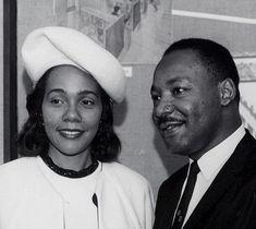 Martin Luther and Coretta Scott King