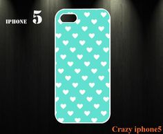 iPhone 4s case - hearts