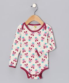Take a look at this Magenta Abby Cadabby Organic Bodysuit - Infant by Kiwi Industries on #zulily today!