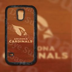 Arizona Cardinals Dark Wood Look Design on Samsung Galaxy S5 Black Rubber Silicone Case by EastCoastDyeSub on Etsy https://www.etsy.com/listing/196038489/arizona-cardinals-dark-wood-look-design