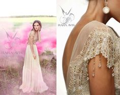 Hey, I found this really awesome Etsy listing at https://www.etsy.com/listing/249112801/bohemian-wedding-dress-kalyvin-boho
