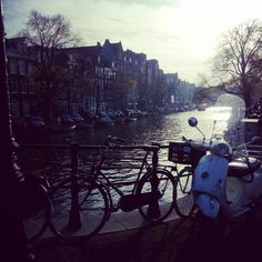 Amsterdam streets are beautiful.