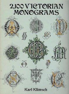 Victorian Monograms by leta