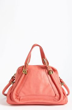 Chlo¨¦, Paraty Medium Satchel, grey | handbags | Pinterest | Chloe ...