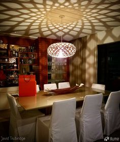 The David Trubridge KINA pendant light and its gorgeous shadows! Click image for where to buy!