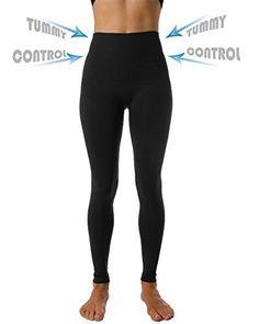 ce4f1e541a5 Homma High Waist Tummy Compression Control Slimming Leggings (large, black)  Black Leggings,