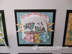 Stamp & Scrap with Frenchie: Inchie Frame with Frenchie team and Stampin'Up! Product