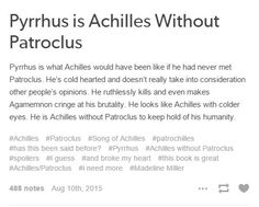 http://generationofblanks.tumblr.com/post/126403751697/pyrrhus-is-achilles-without-patroclus