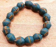 African Recycled Beads Krobo Beads Barrel Beads 15 by Krobobeads
