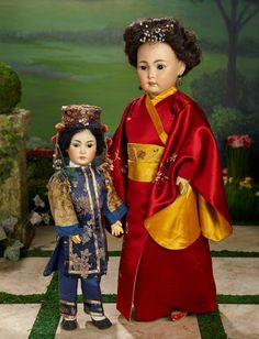 German Bisque Asian Doll, Mode... Auctions Online | Proxibid