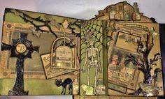 annes papercreations: Graphic 45 Rare Oddities 6x6 page mini album