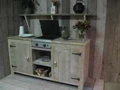 steigerhout in de keuken - Google zoeken