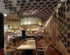 Rong Restaurant by Golucci International Design, Tianjin China restaurant