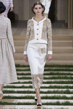 Chanel коллекция   Коллекции весна-лето 2016   Париж   VOGUE