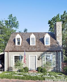 This stunning little home in Birmingham Alabama by Bill Ingram Architect and featured by House Beautiful is a perfect example of prope...