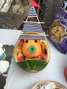Baby fruit boat
