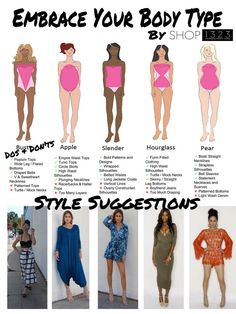 I know you're thinking about what is the meaning of fruit body shapes! Actually, do you know what is the meaning of body shapes exactly? Or which body shape Triangle Body Shape, Inverted Triangle Body, Inverted Triangle Outfits, Dress Body Type, Swimsuit For Body Type, Dressing Your Body Type, Apple Body Shapes, Mode Hippie, Empire Waist Tops