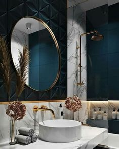 Most up-to-date Photographs Luxury Bathroom interior Concepts Guaranteeing space everyday life approximately the posh visual associated with all of your household Home Design, Home Interior Design, Interior And Exterior, Interior Decorating, Decorating Ideas, Design Ideas, Decor Ideas, Contemporary Interior Design, Design Studio