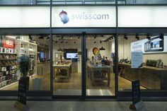 Swisscom store design by instinct laboratory in Uster, Switzerland. #swisscom #uster #store #design #instinct #laboratory